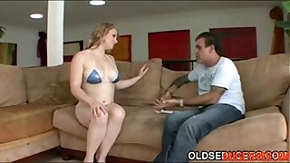 Step-dad Seduced by Teen Tits, Free Old & Young Porn Video - abuserporn.com