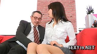 Hawt lesson in wild seduction