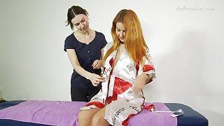 Tender erotic palpate with lovely looking sweetie called Nicole Birdman