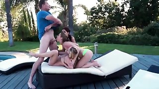 My crony's sisters and pregnant orgy xxx Drone Hunter
