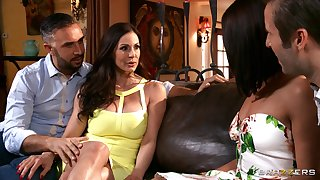 Slutty wife Adriana Chechik shared her hubby yon Kendra Die for