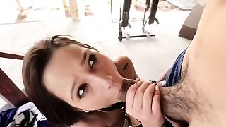 Brunette loves being affianced and fucked hardcore