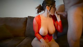 Gorgeous whore appears in potty porn clip