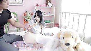 Lash Japanese slut not far from Exotic HD, Toys JAV video