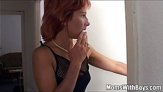 Stepmama Fucks Young Boy