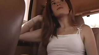 Closely-knit titty amateur hooker mckenzie blasted on her face