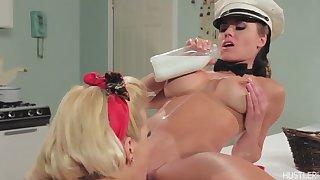 Adriana Sephora in Girl on Girl Milk